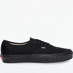 Vans Authentic All Black Skate Shoes